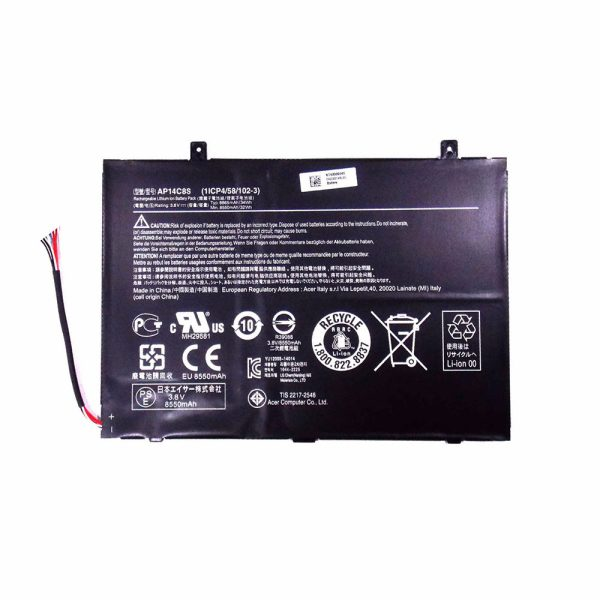 Batería original para Tablet de Acer Switch Pro 11 SW5-111P -18K0